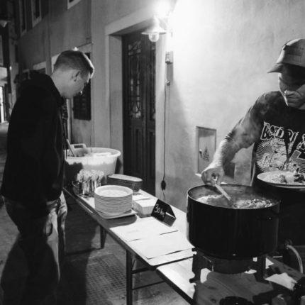 REPeat comfort food plating as seen through the lens of Joel Peck at this year's edition of Vladimir Film Festival in Fažana - Croatia.