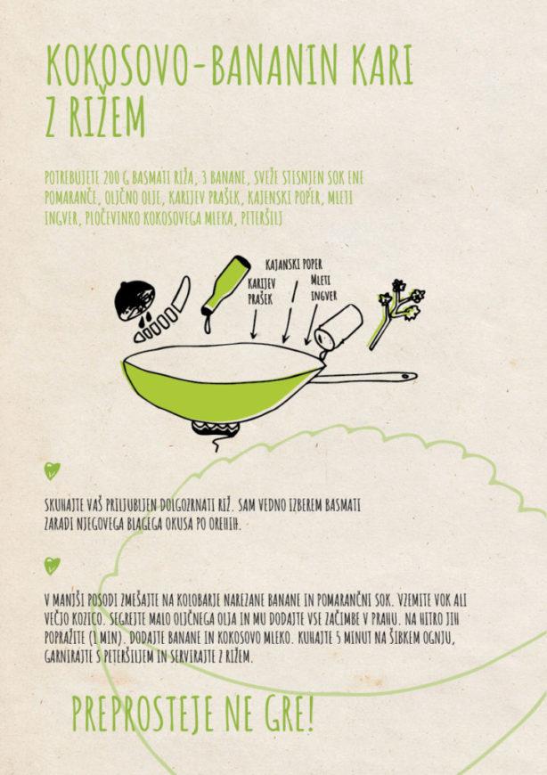 REPeat food-zine Kokosovo-bananin kari z rižem