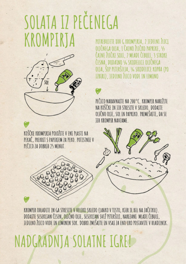 REPeat food-zine Solata iz pečenega krompirja