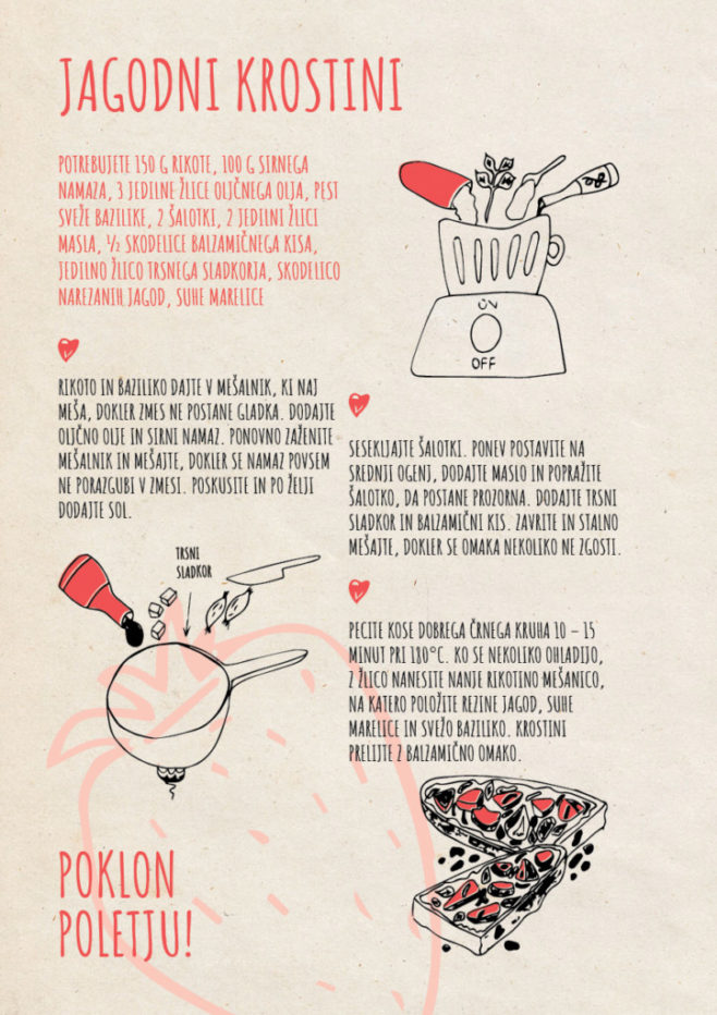 REPeat food-zine Jagodni krostini