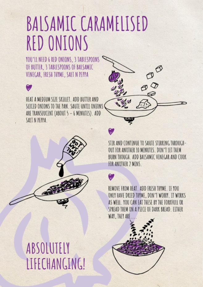 REPeat foodzine1 Balsamic caramelised red onions