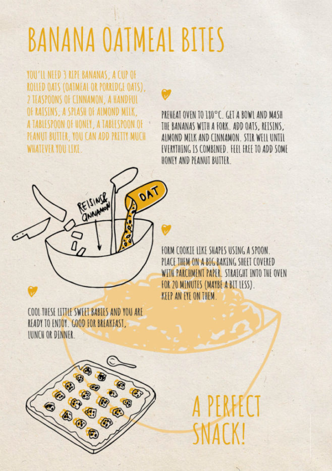 REPeat foodzine2 Banana oatmeal bites
