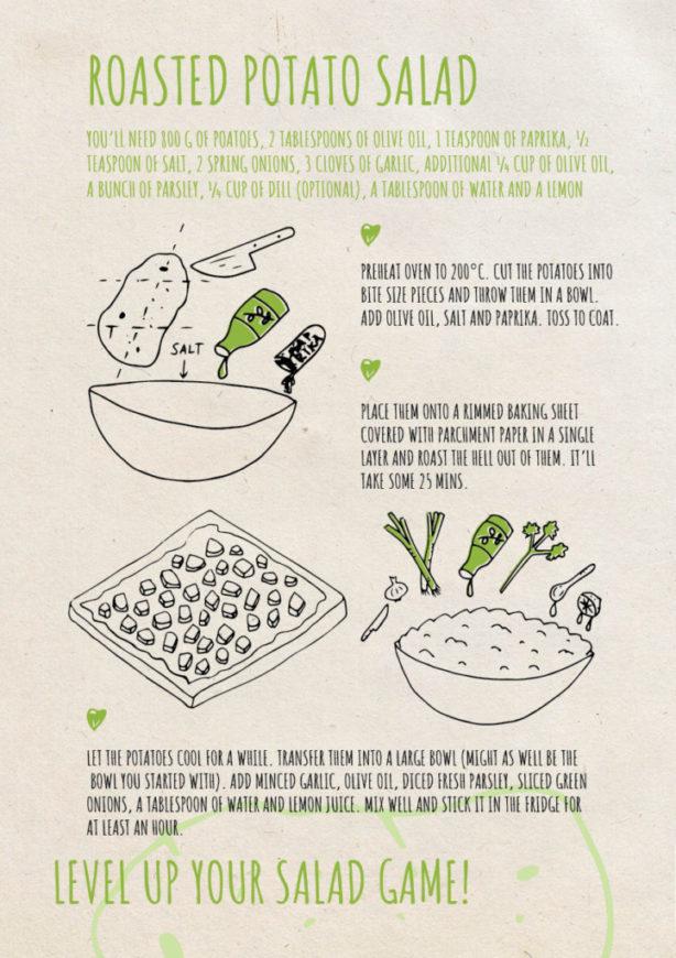 REPeat foodzine35 Roasted potato salad