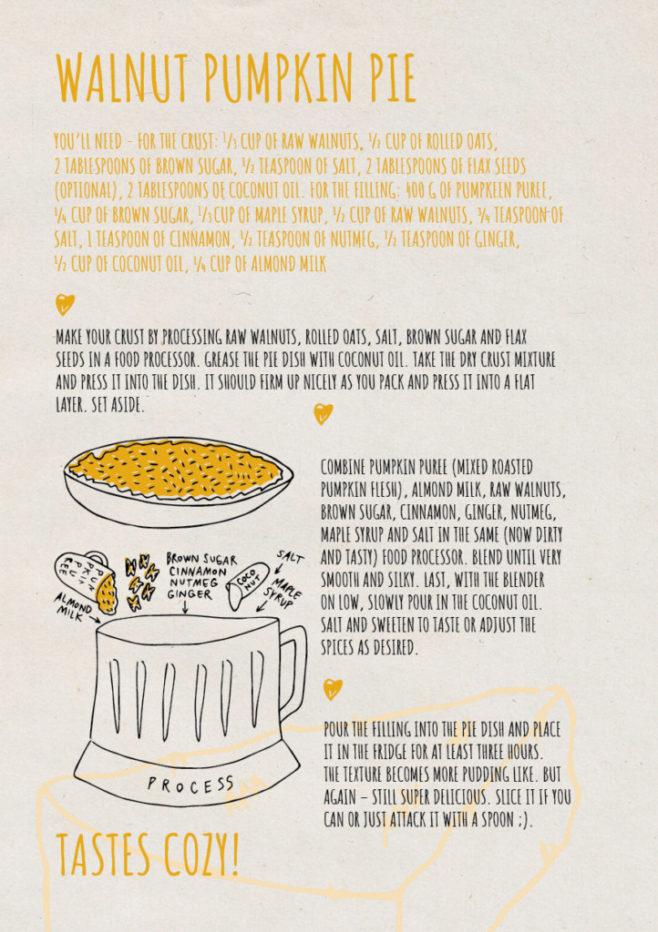 REPeat food-zine - walnut pumpkin pie