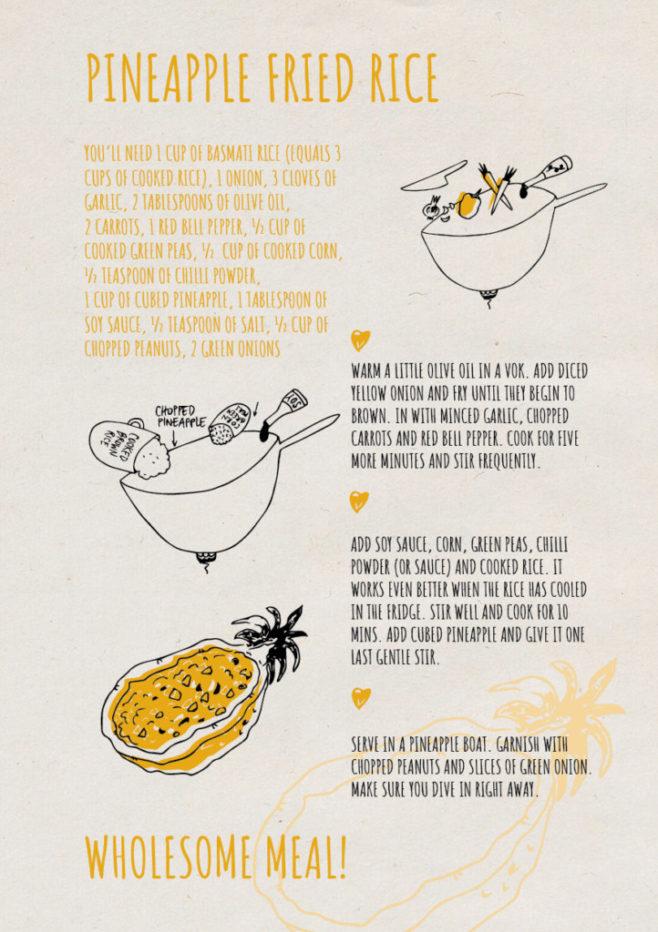 REPeat food-zine - pineapple fried rice