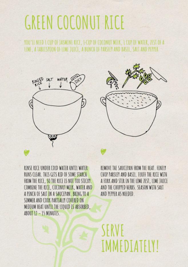 REPeat food-zine - green coconut rice