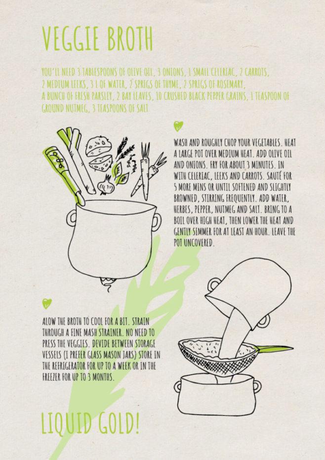 REPeat food-zine - veggie broth