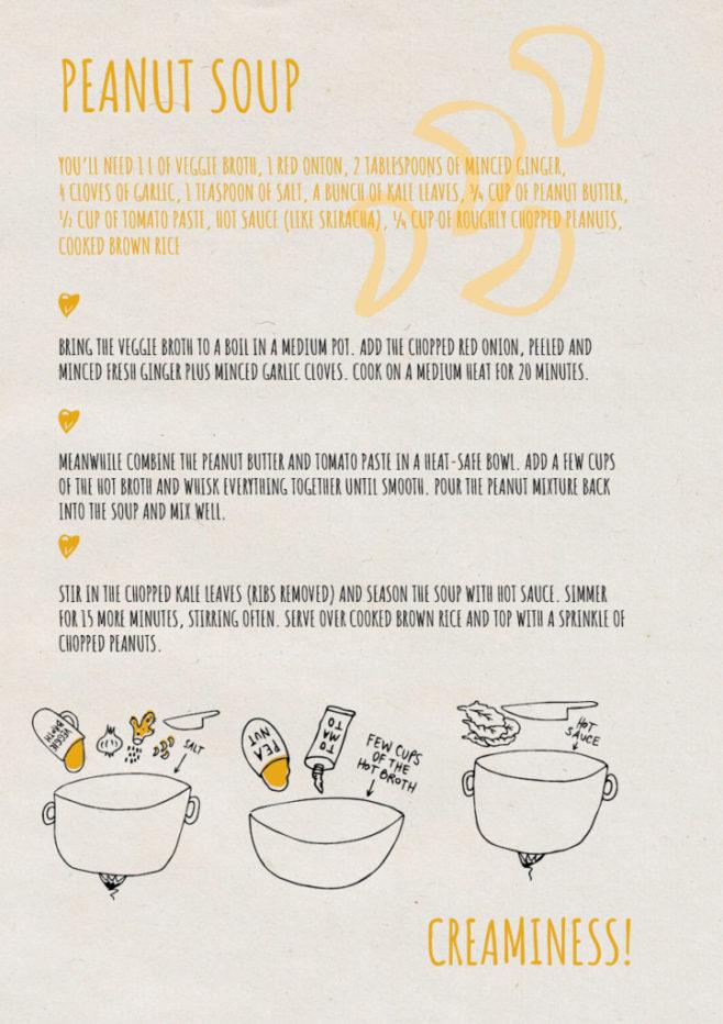 REPeat food-zine - peanut soup