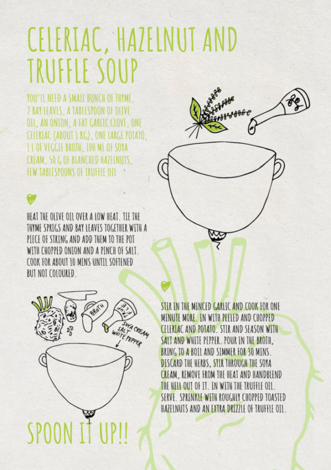 REPeat food-zine - celeriac hazelnut and truffle soup