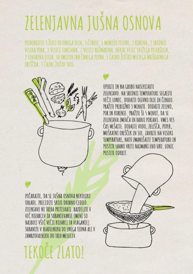 REPeat food-zine - zelenjavna jušna osnova